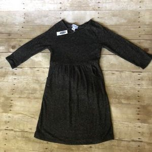 NWT Old Navy charcoal gray dress